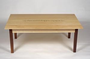 Java table side on