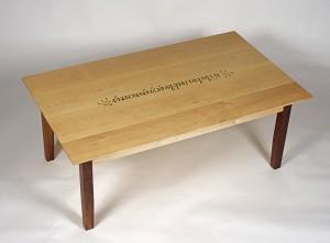Java table top angled