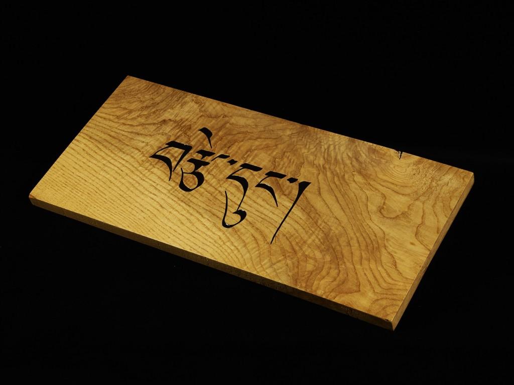 Tibetan elm angled